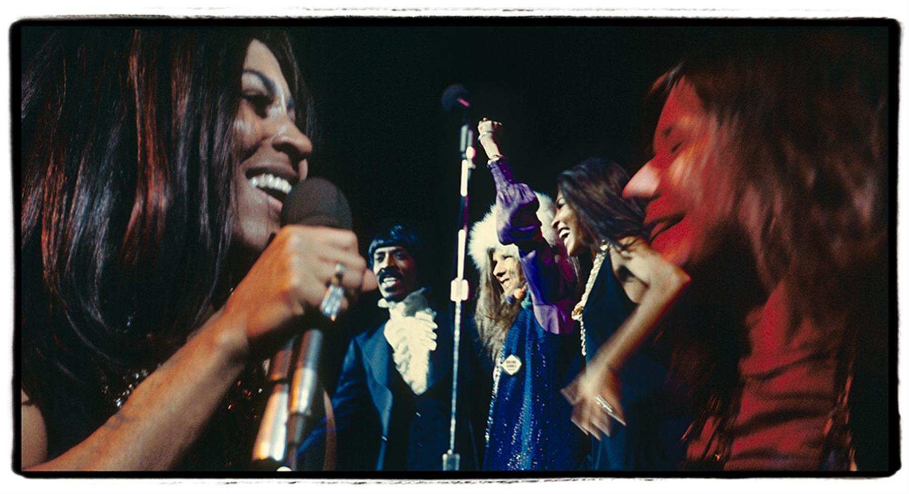 1969. Дженис Джоплин с Тиной и Айком Тернером в Мэдисон-Сквер-Гарден. 27 ноября