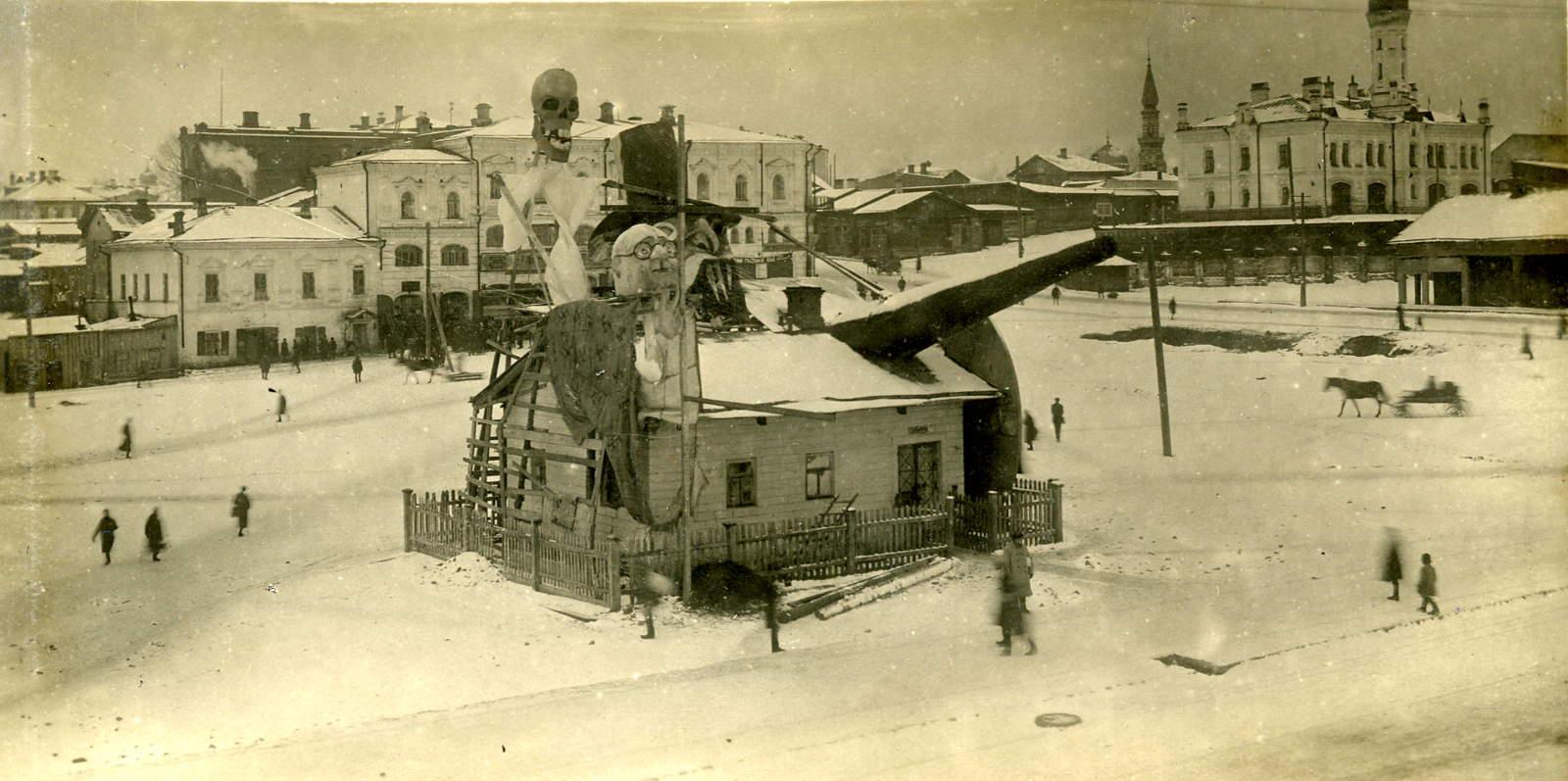 20. Площадь Чёрного рынка, улица Советская