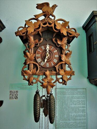 Часы с кукушкой, Германия, XIXв