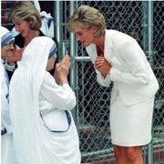 принцесса Диана и монахиня