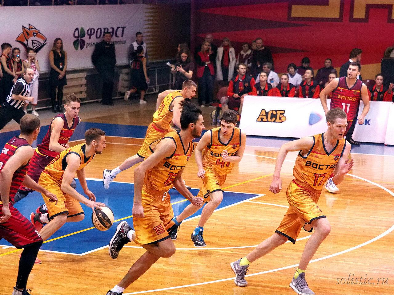 77 Матч звезд АСБ 2018 (ассоциации студенческого баскетбола)