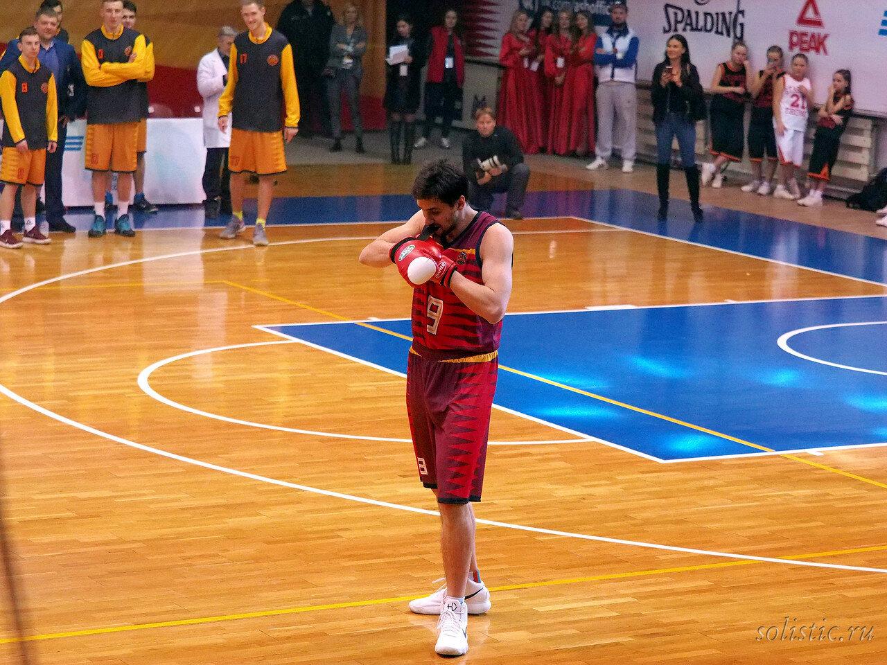 117 Матч звезд АСБ 2018 (ассоциации студенческого баскетбола)
