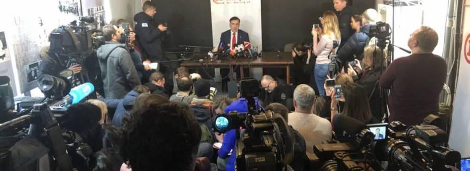 Саакашвили в Варшаве: О незаконной депортации, дальнейшие планы и протестное движение в Украине