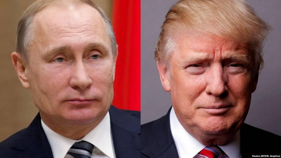 Трамп поговорил с Путиным по телефону, Кремль говорит, что «поздравил»
