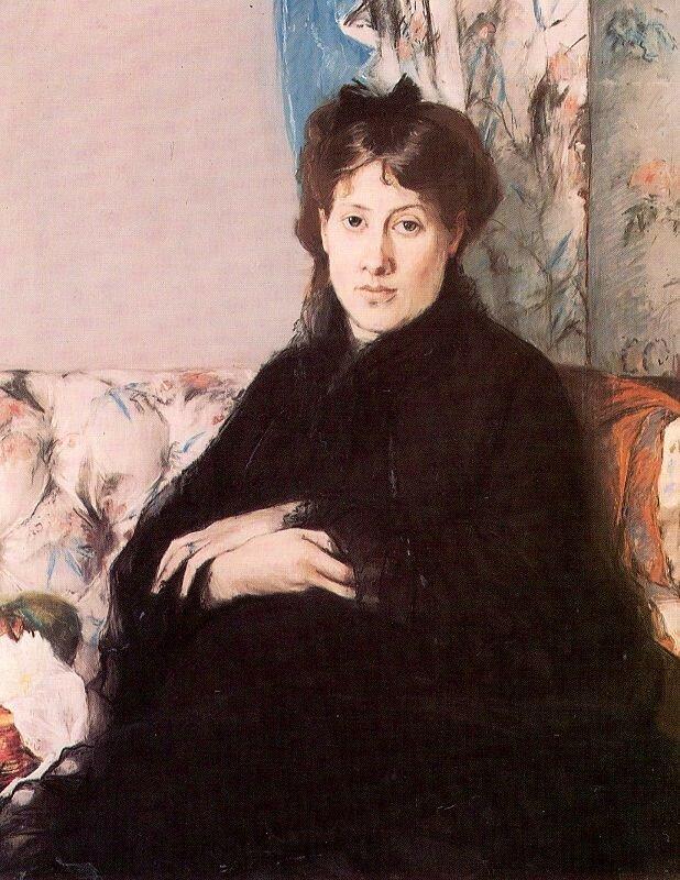 Берта Моризо. Эдма Моризо-Понтийон. 1871 г. Музей Д'Орсе, Париж.