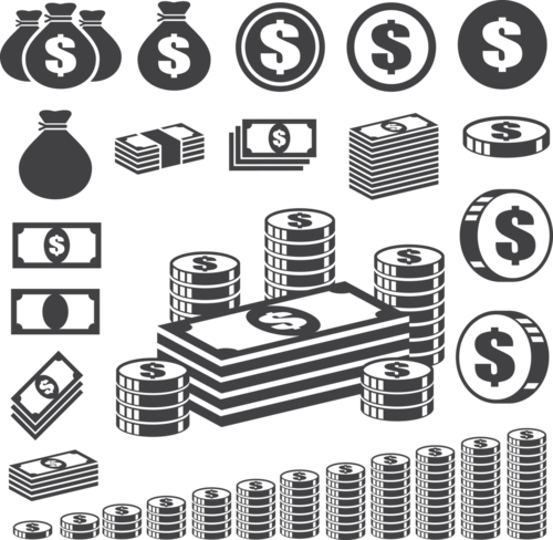 денежные значки