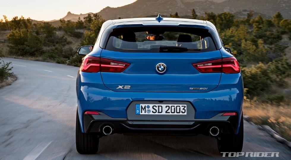 По предварительным данным, уже в «базе» у BMW X2 будет М-подвеска. За доплату предложат адаптивные а