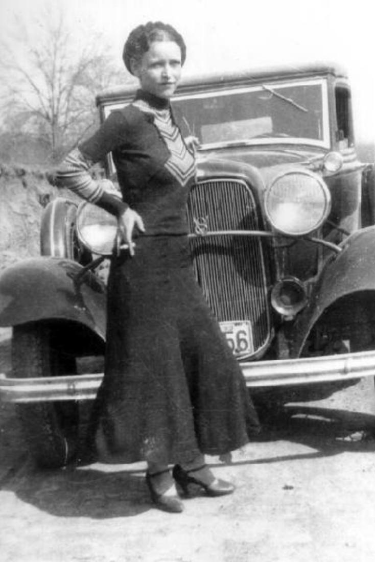 Машина смерти: последний автомобиль Бонни и Клайда (7 фото)