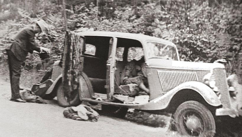 Машина смерти: последний автомобиль Бонни и Клайда