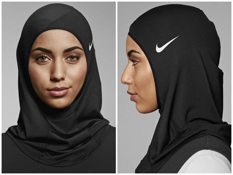 Компания Nike выпустила спортивный хиджаб для мусульманских спортсменок (9 фото)