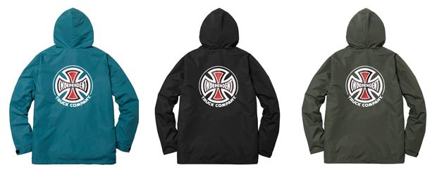 Supreme X Independent Fall 2017 Collection