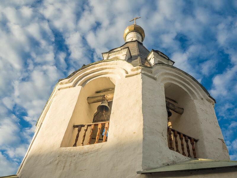 Ул. Советская. Колокольня церкви Михаила и Гавриила Архангелов с Городца.