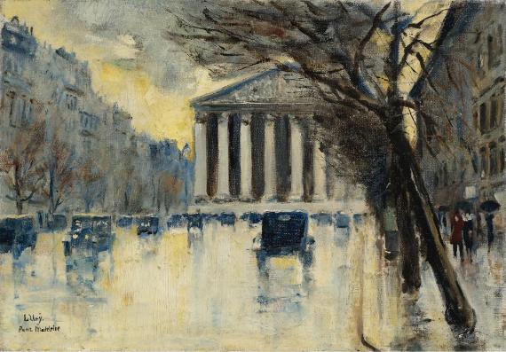 Лессер Ури. Ла Маделейне 1928, 35.5×50.8 см