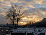 Зимний закат в Солнцево