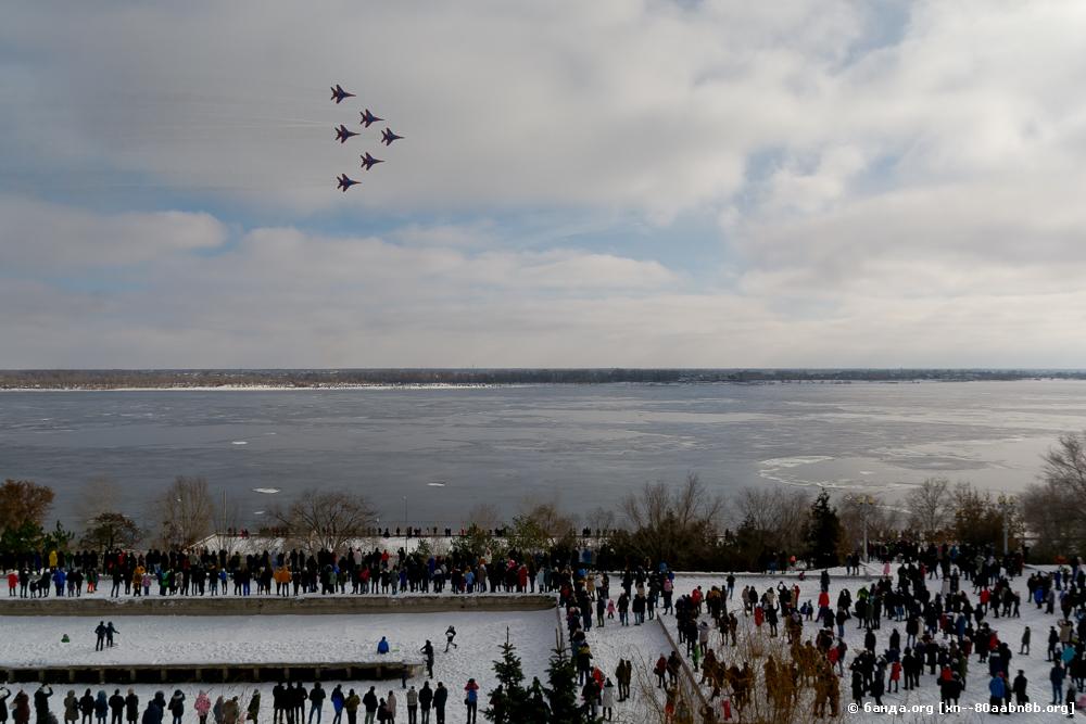Стрижи на 75 лет Сталинградской битве