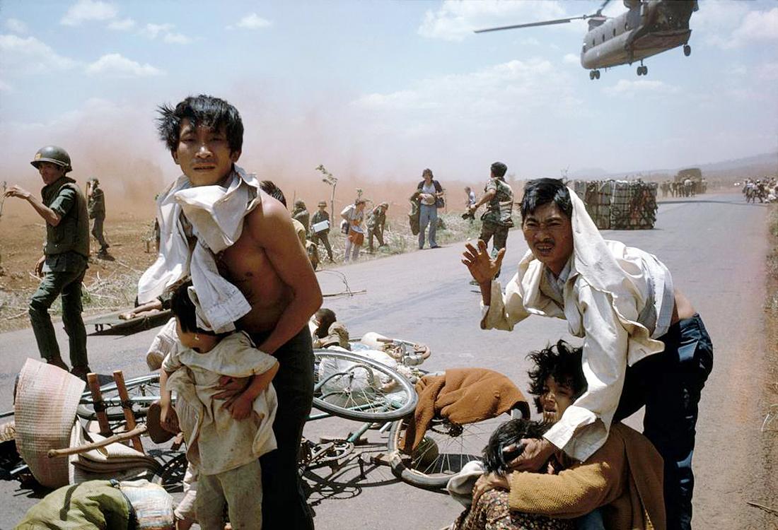 Вьетнамские беженцы. 13 апреля 1975