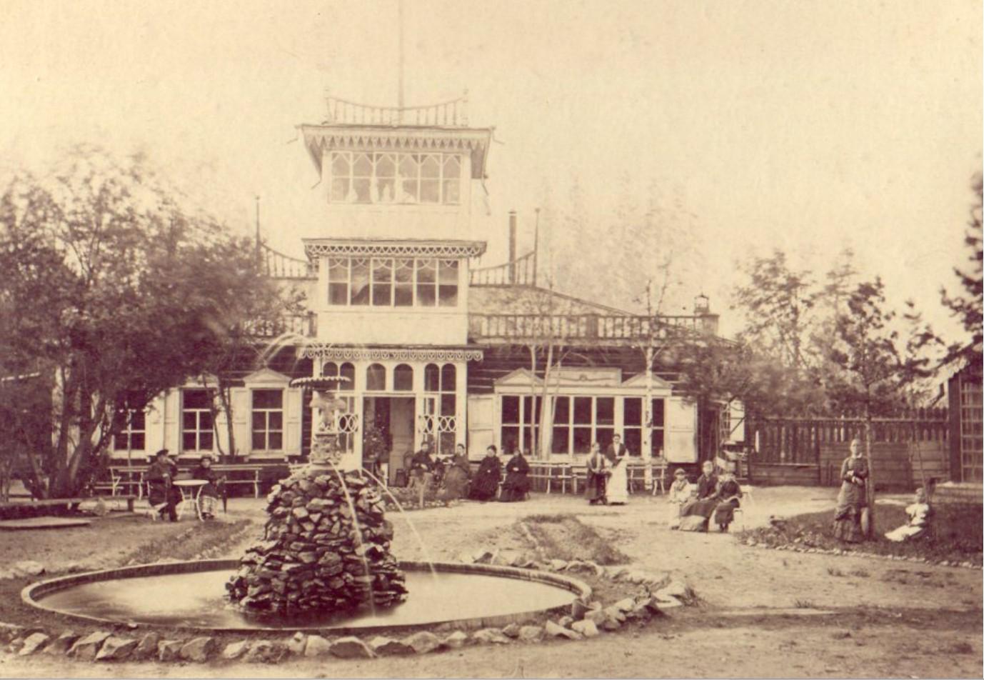 Дворец М.Д.Бутина. Дом Т. Д. Мауриц в саду