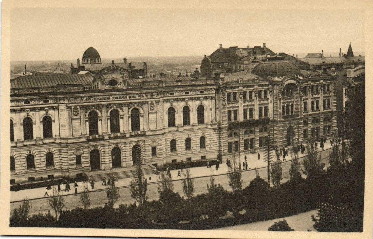 Земельный и Торговый банк на Николаевской площади