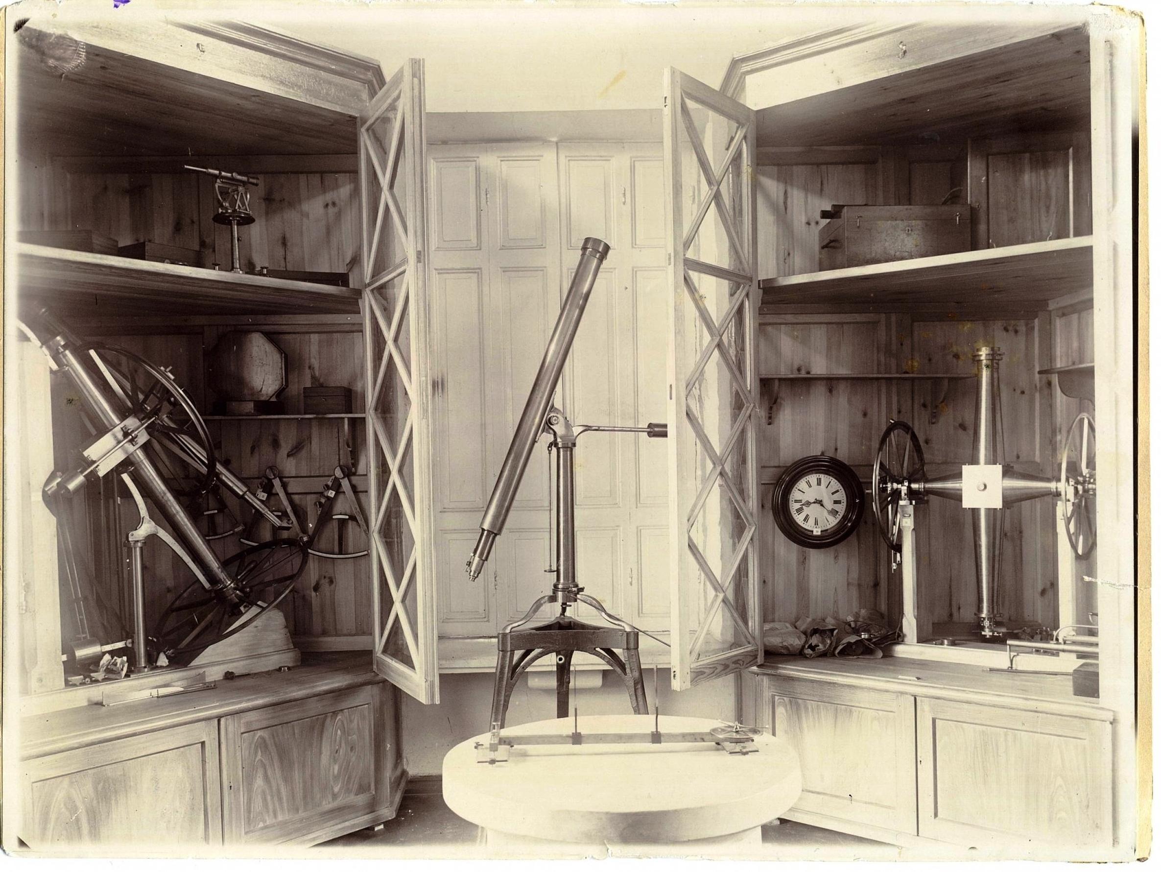Музей астрономической обсерватории Казанского университета. 1896