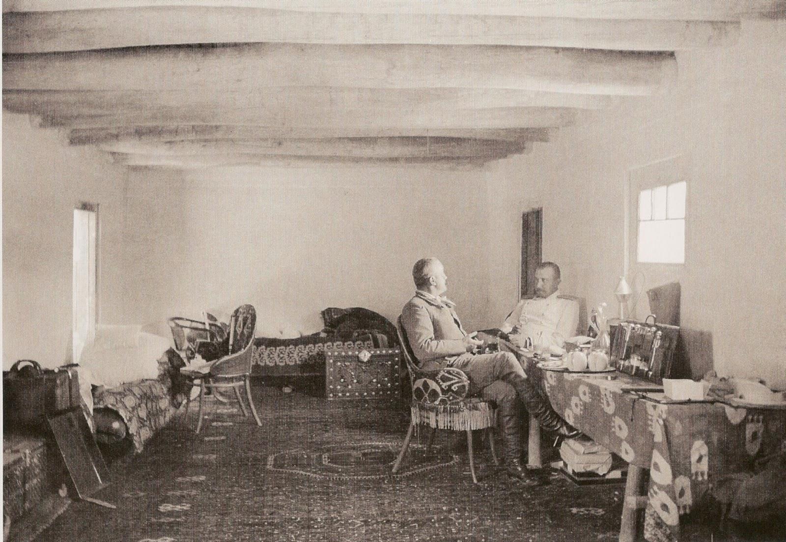 Надар с князем Гагариным