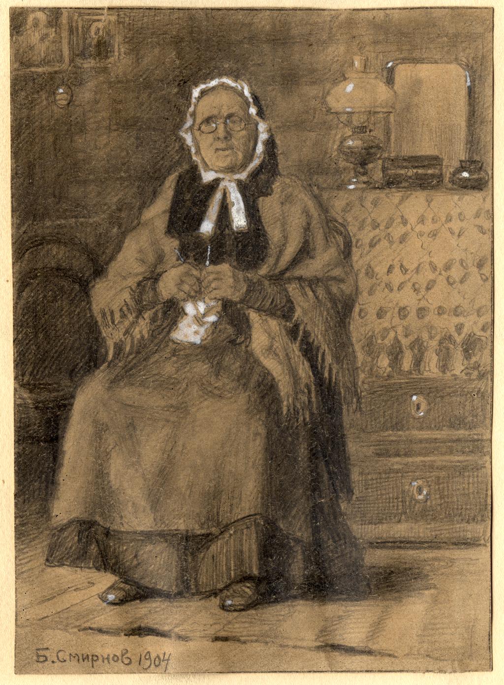 Бабушка из Красноярска