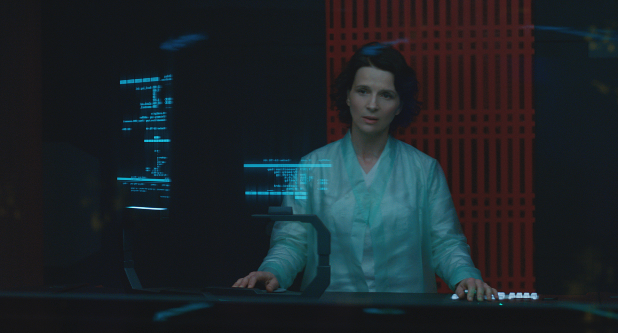 Juliette Binoche plays Dr. Ouelet in Ghost in the Shell from Paramount Pictures and DreamWorks Pictures in theaters March 31, 2017.