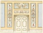 ЧЕРТЕЖ БОКОВОЙ СТЕНКИ С ДВЕРНЫМ ПРОЕМОМ, 1815-22.jpg