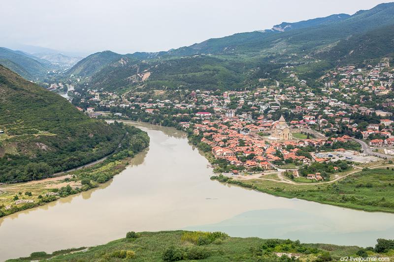 Грузия. Монастырь Джвари и древняя столица Мцхета
