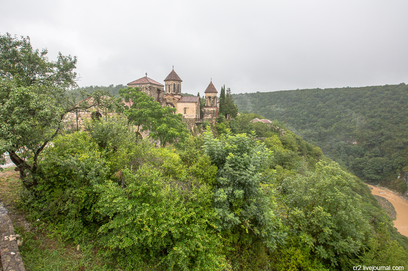 Грузия. Монастырь Моцамета