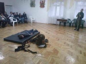 Бойцы 6 ЗБат ДУК ПС провели семинар для гимназистов