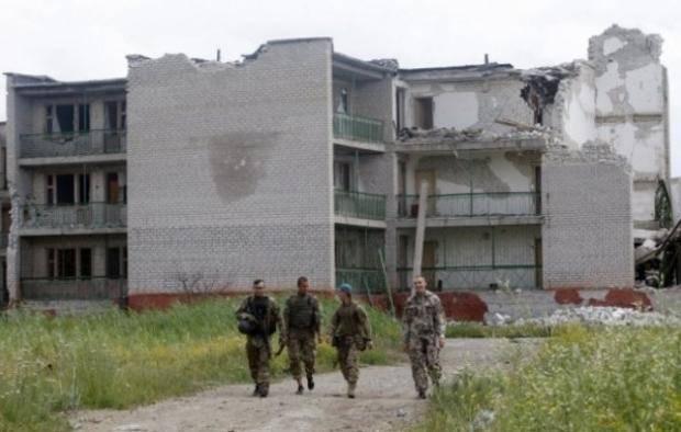 Под Мариуполем не прекращаются обстрелы: Карта АТО на 13 августа