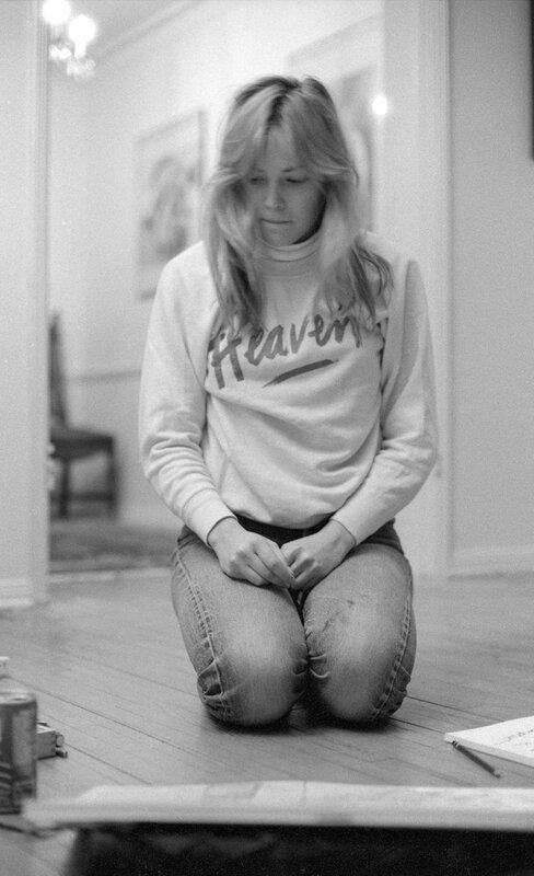 Фотограф Питер Дьюк и снимки   молодая Шэрон Стоун