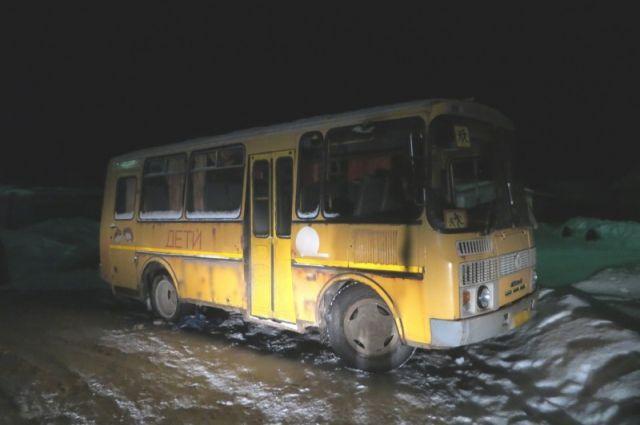ВТатарстане детей возили вхолодном ученическом  автобусе— заведено уголовное дело