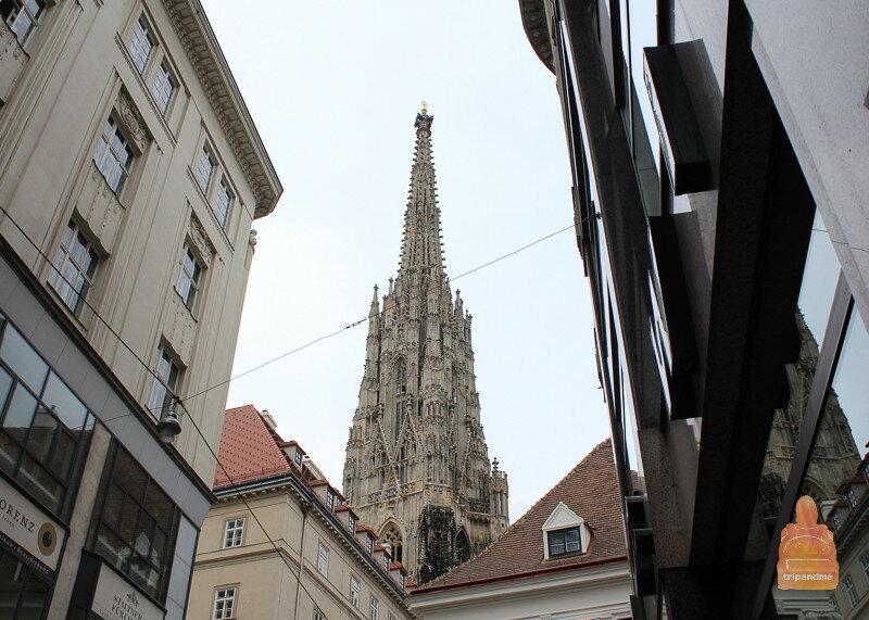 Виз на главный собор Вены