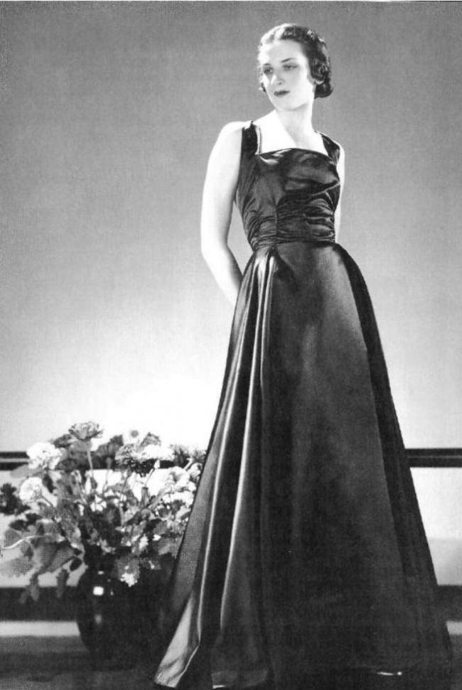 7. Виконтесса Женя де Кастекс очаровала модельеров тем, как изящно она выглядела в их нарядах.