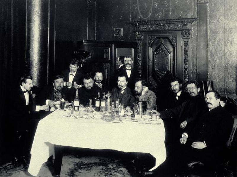 Как пили русские писатели: рассказы трактирщиков начала XX века (12 фото)