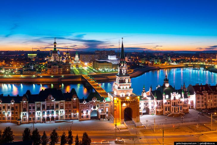Фотографии и текст Славы Степанова   1. Официально город основали в 1584 году под именем Цар