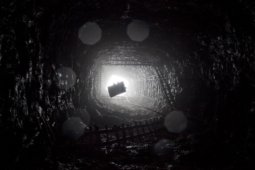 10. 38-летний рабочий шахты в Индии, поднимает корзину с углем весом 60 кг! (Фото Daniel Berehu