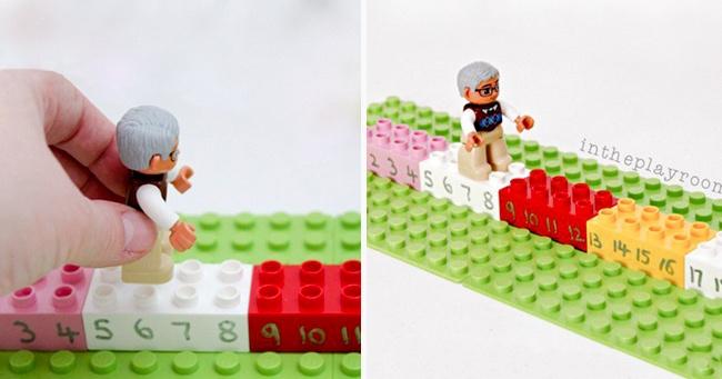 © intheplayroom.co.uk  Как играть Для этой игры прекрасно подойдет набор Lego Duplo. Нам