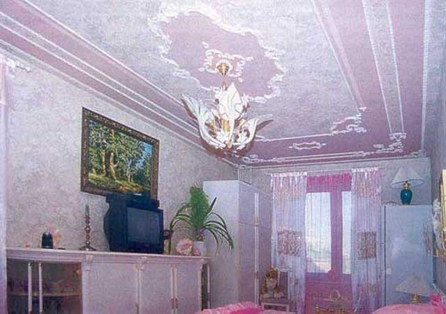 Лепнина Очень обязывающий элемент декора, уместный только в подлинно роскошных просторных интерьерах