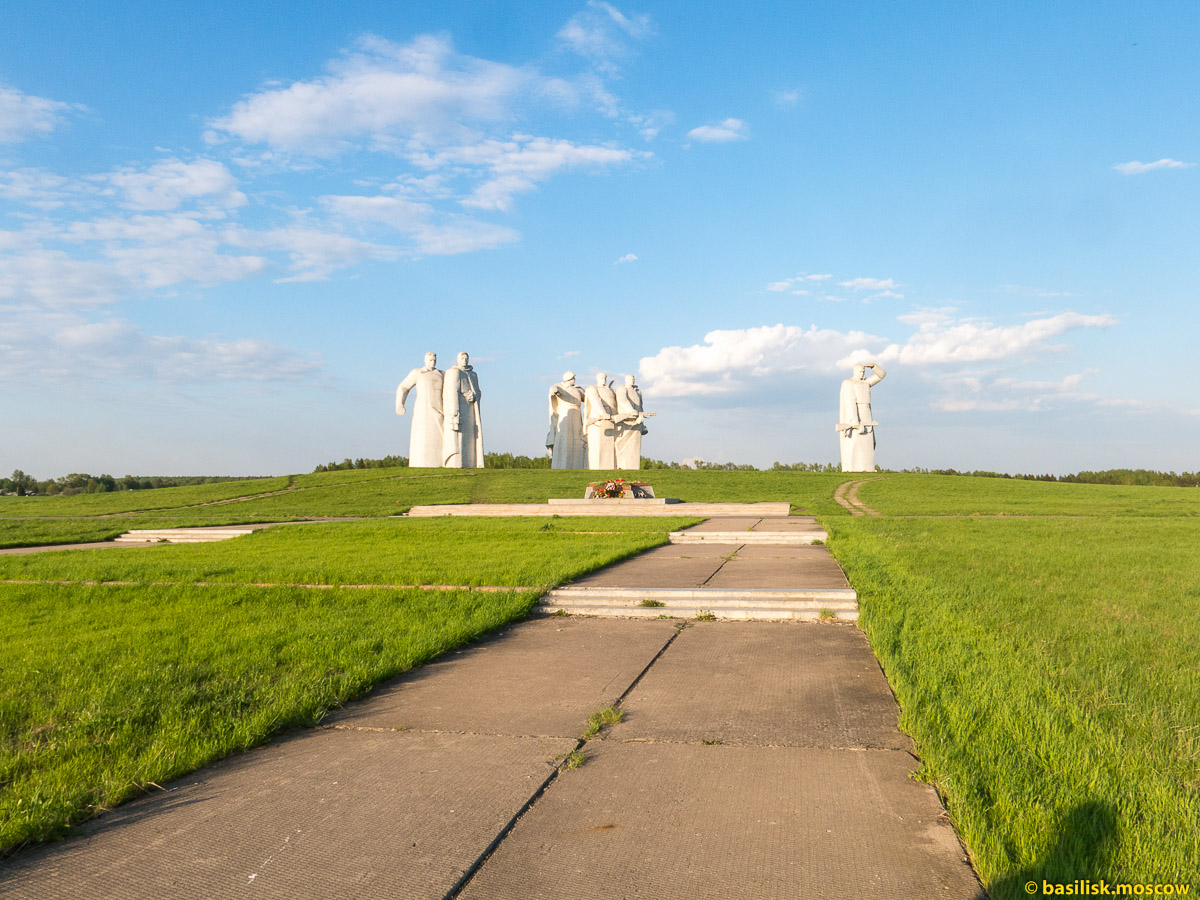 Мемориальный комплекс Дубосеково. Московская область. Май 2016