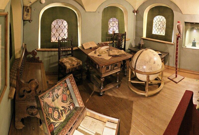 Палаты бояр Романовых. Комната старших сыновей.