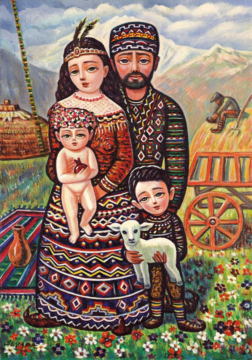 фото картины армянских художников протестующие вели