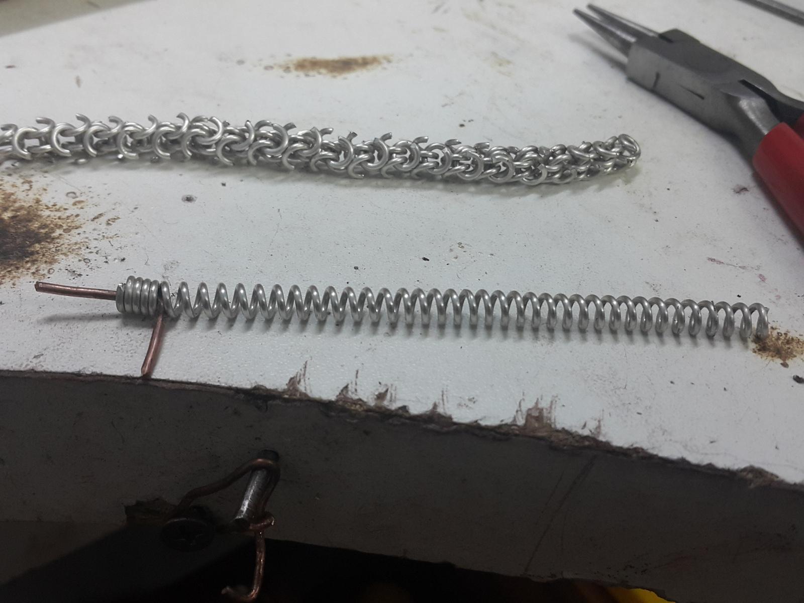 Изготовление цепочки своими руками
