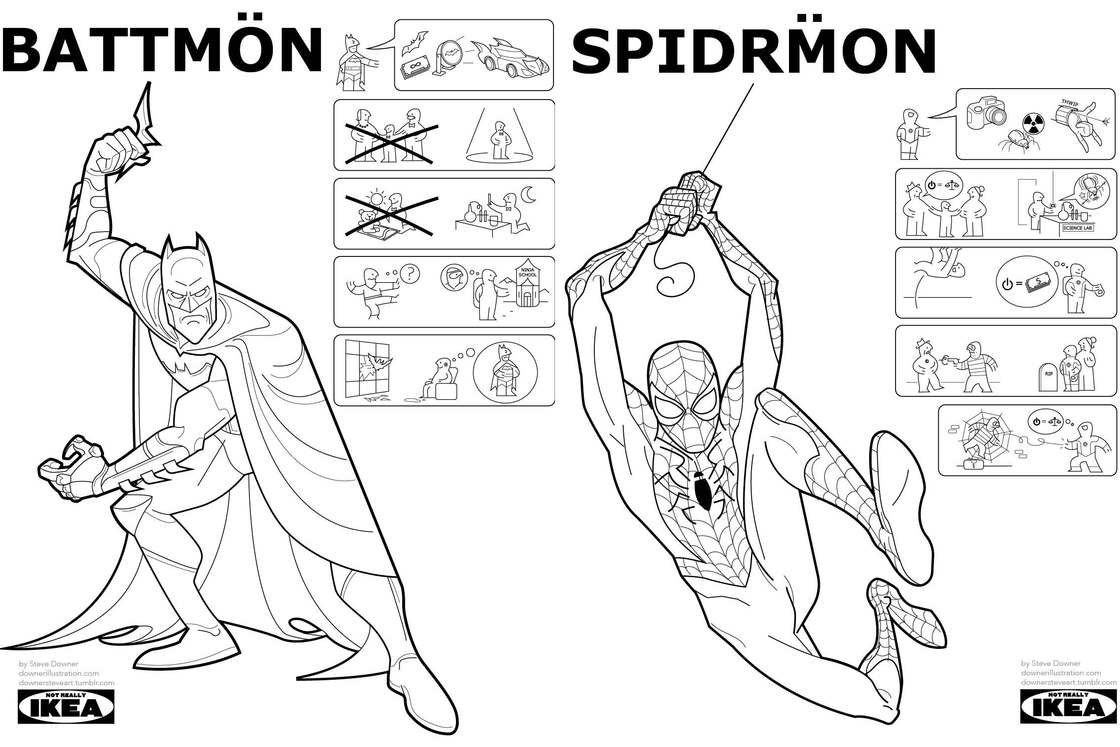 If IKEA was selling Superheroes