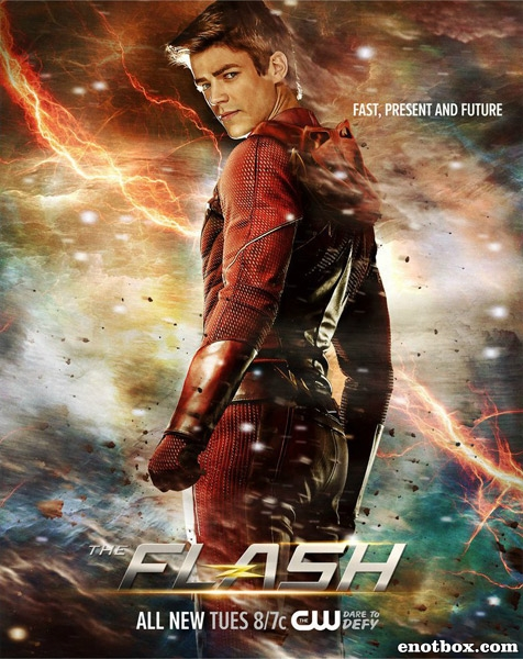 Флэш / The Flash - Сезон 3, Серии 1-19 (23) [2016, WEB-DLRip | WEB-DL 1080p] (LostFilm | NewStudio)