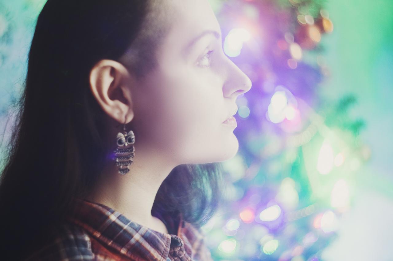 self-portrait by irella lisitsyna