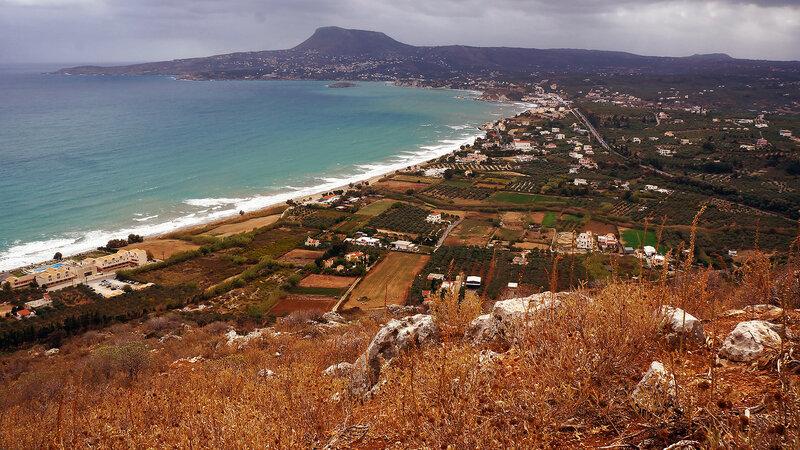 Греция, остров Крит, полуостров Акротири
