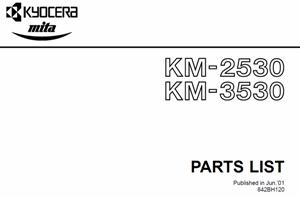 service - Инструкции (Service Manual, UM, PC) фирмы Mita Kyocera - Страница 2 0_13836f_5a232dce_orig