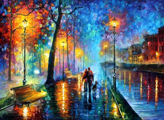 Colorful Paintings by Leonid Afremov (32 pics)